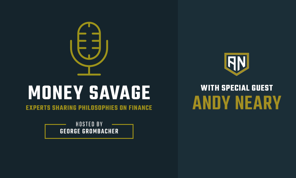 Andy Neary Money Savage podcast logo