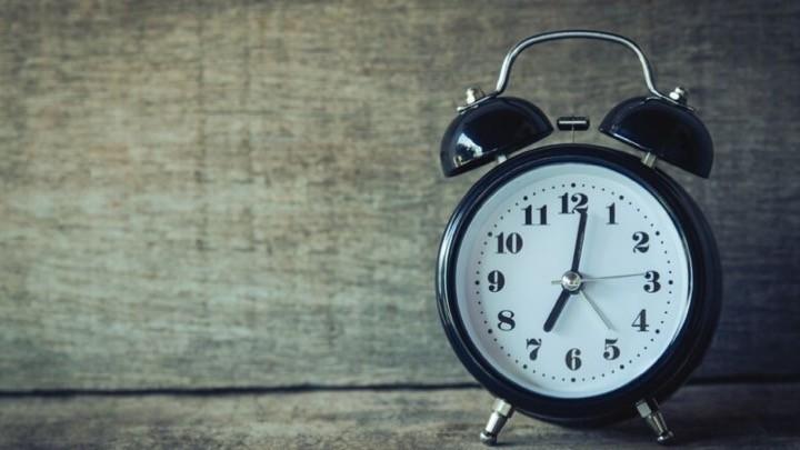 A classic alarm clock